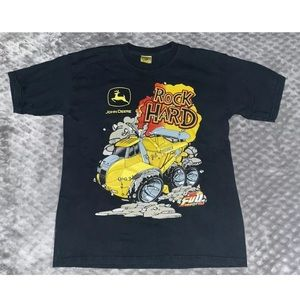 John Deere Shirts & Tops - Kids 14/16 John Deere Rock Hard Dumptruck T-Shirt